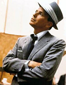 The Chairman of the Board: Frank Sinatra, a Harkes family favourite.
