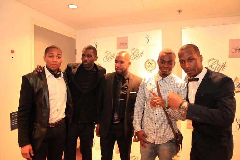 From left to right: Lionel Morgan, Wretch 32, DJ Spoony, George The Poet and Shola Oyedele