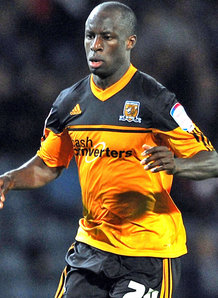 Eni's brother - Hull City forward Sone Aluko