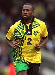 Former Derby County and Jamaica defender Michael Johnson