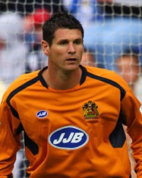 Goalkeeper Mike Pollitt who has spent the last eight years with Wigan Athletic