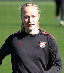 FC Kansas City and US Women's National Team defender Becky Sauerbrunn