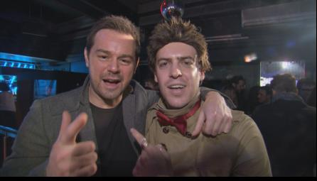 Danny Dyer and Franky Fryer